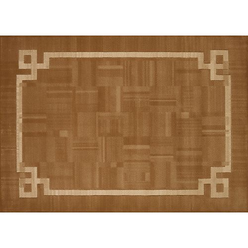 United Weavers Studio Emery Framed Solid Rug