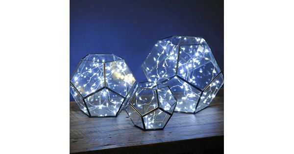 Manor Lane Cool White Shimmer LED String Lights
