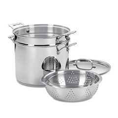 Cuisinart Chef's Classic Stainless Steel 12-qt. Pasta Steamer Set