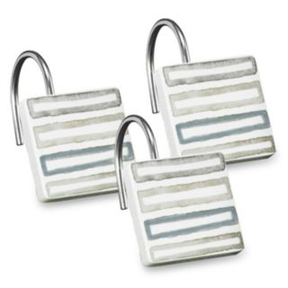Popular Bath Shell Rummel 12-pack Soft Repose Shower Curtain Hook