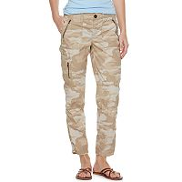 Women's SONOMA Goods for Life™ Zipper Utility Capris