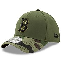 Adult New Era Boston Red Sox Memorial Day 39THIRTY Flex-Fit Cap