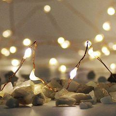 Manor Lane Copper Shimmer LED String Lights