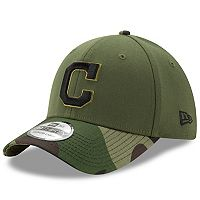 Adult New Era Cleveland Indians Memorial Day 39THIRTY Flex-Fit Cap