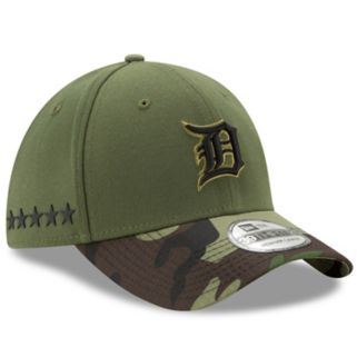 Adult New Era Detroit Tigers Memorial Day 39THIRTY Flex-Fit Cap