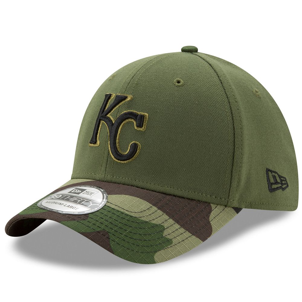 New Era Kansas City Royals Memorial Day 39THIRTY Flex-Fit Cap