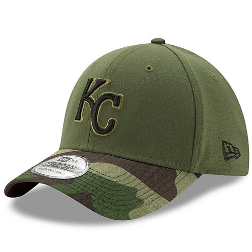 413d512e Adult New Era Kansas City Royals Memorial Day 39THIRTY Flex-Fit ...