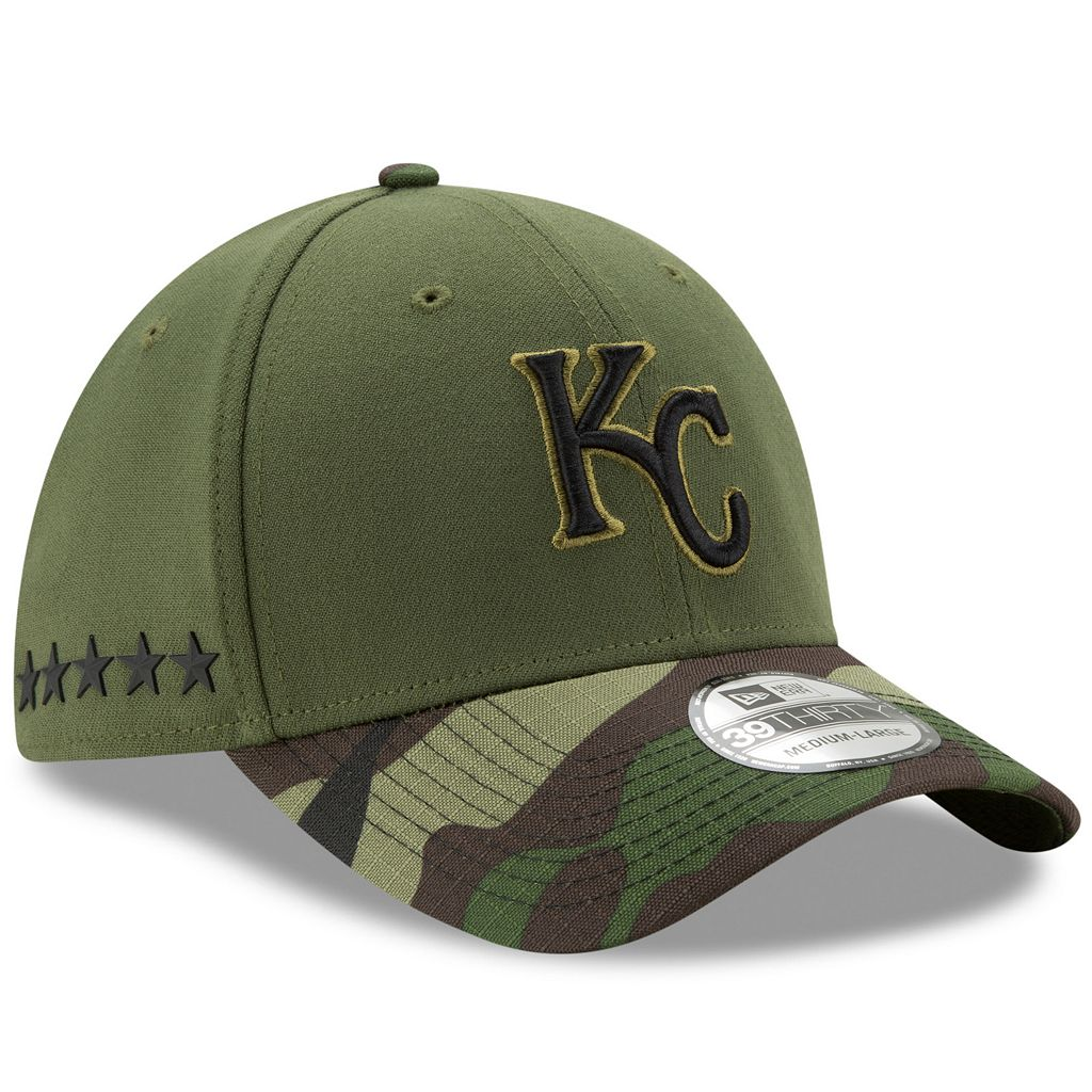 Adult New Era Kansas City Royals Memorial Day 39THIRTY Flex-Fit Cap