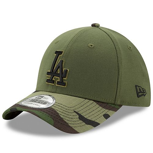 8baf1226 Adult New Era Los Angeles Dodgers Memorial Day 39THIRTY Flex-Fit ...