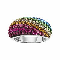 Confetti Crystal Ring