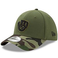 Adult New Era Milwaukee Brewers Memorial Day 39THIRTY Flex-Fit Cap