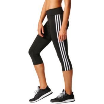 Women's adidas D2M 3 Stripe Capris