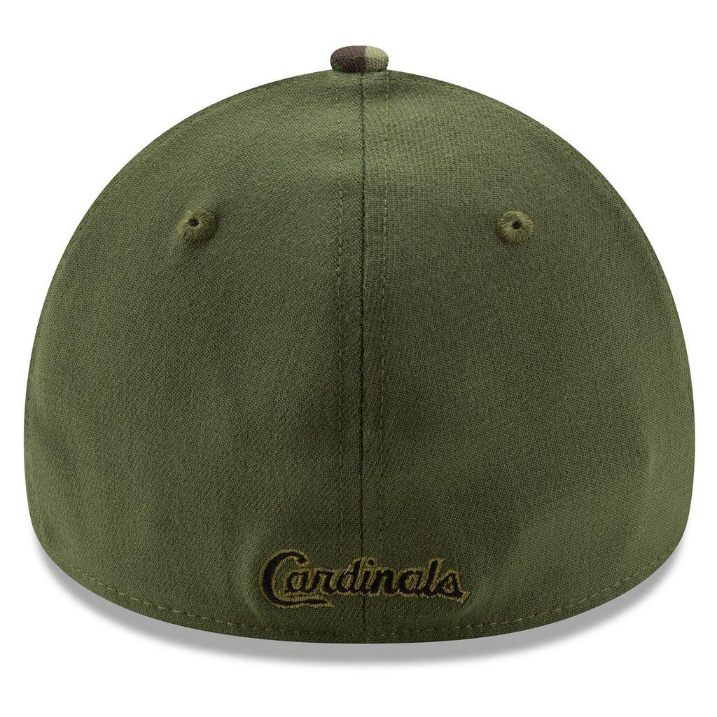 Adult New Era St. Louis Cardinals Memorial Day 39THIRTY Flex-Fit Cap