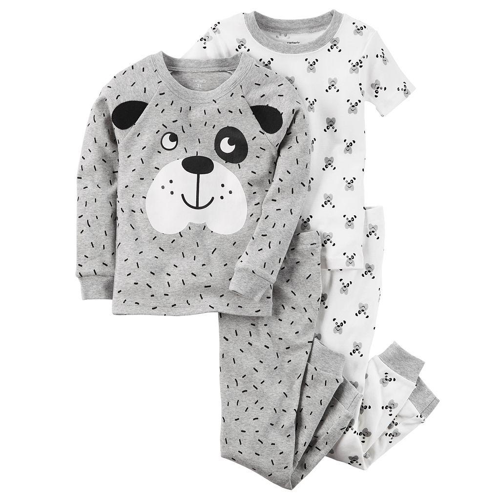 Baby Boy Carter's 4-pc. Dog Tops & Pants Pajama Set