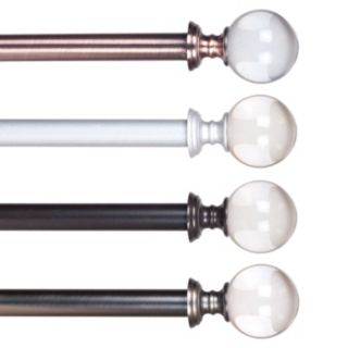 Portsmouth Home Crystal Ball Curtain Rod