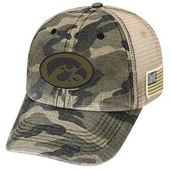 Adult Top of the World Iowa Hawkeyes Declare One-Fit Cap