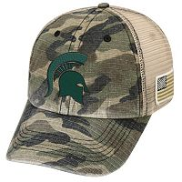Adult Top of the World Michigan State Spartans Declare One-Fit Cap