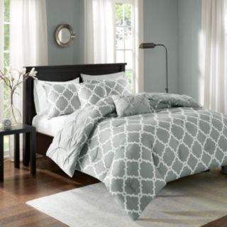 Madison Park Essentials 5-piece Devin Reversible Comforter Set