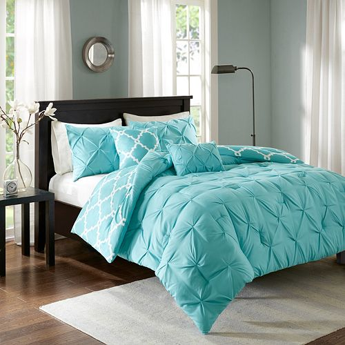 Madison Park Essentials 5 Piece Devin Reversible Comforter Set