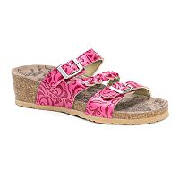 MUK LUKS Bette Women's Wedge Sandals