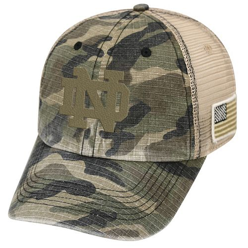 Adult Top of the World Notre Dame Fighting Irish Declare One-Fit Cap 118f5436f89