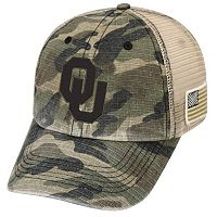 Adult Top of the World Oklahoma Sooners Declare One-Fit Cap