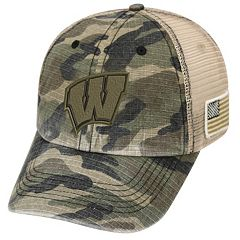 Adult Top of the World Wisconsin Badgers Declare One-Fit Cap