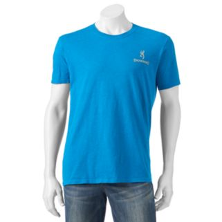 Men's Browning Heathered Logo Tee