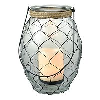 San Miguel Rustic LED Candle Lantern