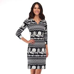 Women's Indication Abstract Striped Sheath Dress