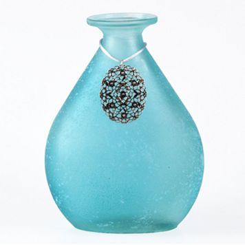 San Miguel Tierra Blue Decorative Bottle Table Decor