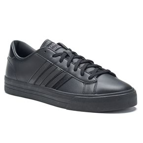 adidas neo cloudfoam super daily men's leather shoes