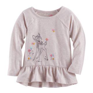 Disney's Bambi Baby Girl Graphic Peplum Tunic by Jumping Beans®