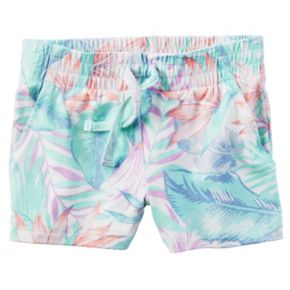 Toddler Girl Carter's Pull-On Printed Pattern Shorts