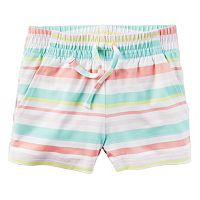Girls 4-8 Carter's Pull-On Printed Pattern Shorts