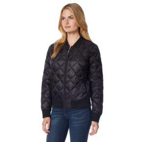 Women's Heat Keep Down Puffer Bomber Jacket