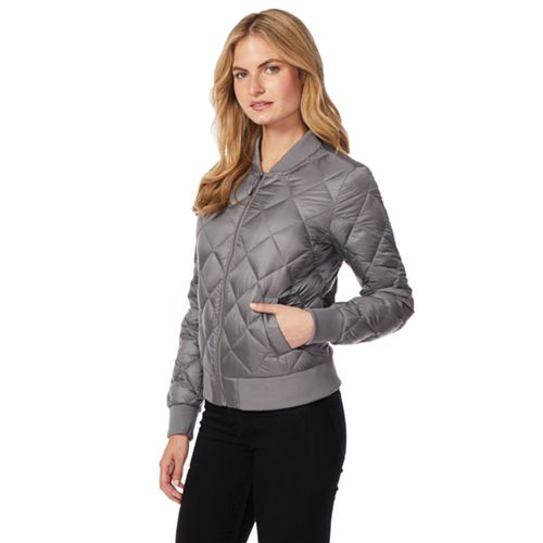 Women's Heat Keep Down Puffer Bomber Jacket