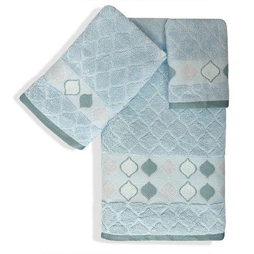 Popular Bath Shell Rummel 3-piece Sea Glass Bath Towel Set