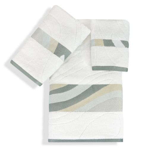 Popular Bath Shell Rummel 3-piece Sand Stone Bath Towel Set
