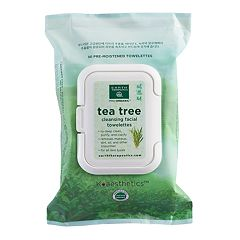 Earth Therapeutics 30 ctTea Tree Cleansing & Makeup Removing Facial Towelettes