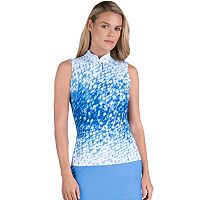 Women's Tail Joyce Rhinestone Knit Golf Top