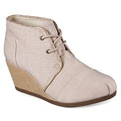 Skechers BOBS High Notes Fancy Fresh Women's Wedge Ankle Boots