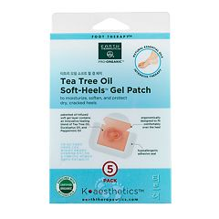 Earth Therapeutics 5 pkTea Tree Oil Soft Heels Gel Packs