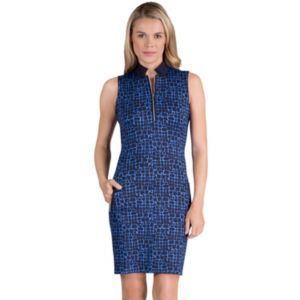 Women's Tail Glenda Knit Quarter-Zip Knit Golf Dress