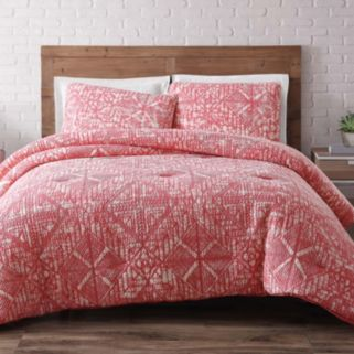 Sand Washed Quilted Duvet Cover Set