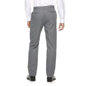 Men's Croft & Barrow Classic-Fit Essential Khaki Flat-Front Pants