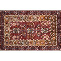 Momeni Tangier Kaiden Framed Floral Wool Rug