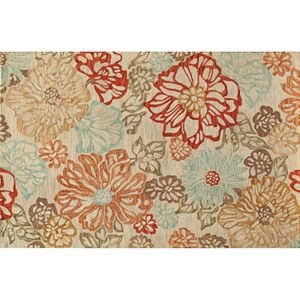 Momeni Tangier Lucienne Floral Wool Rug
