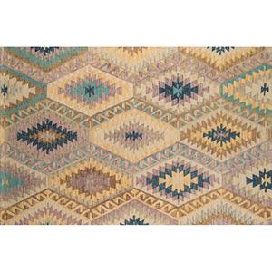 Momeni Tangier Velia Geometric Wool Rug