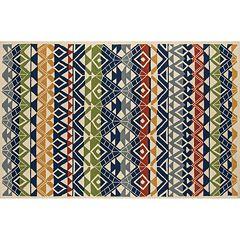 Momeni Veranda Tavia Geometric Indoor Outdoor Rug